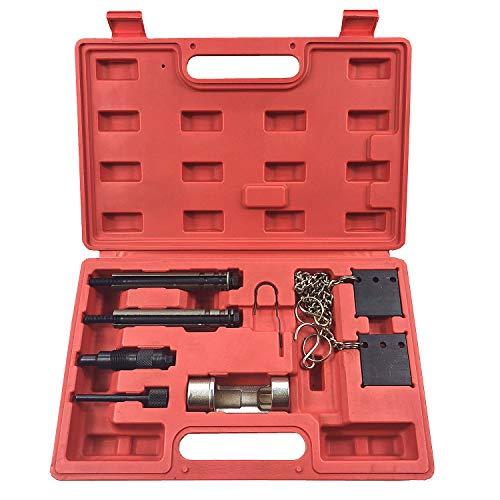 Highking Tool Motor Zahnriemen Wechsel Arretierung Einstellwerzeug Werkzeug Arretierwerkzeug Kompatibel mit VW Audi 2.5 V6 TDI