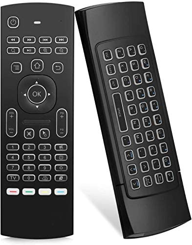 Air Mouse Yalanle MX3 Mini Wireless Keyboard 2 4G Backlit Fly Air Mouse Remote Control Infrared product image