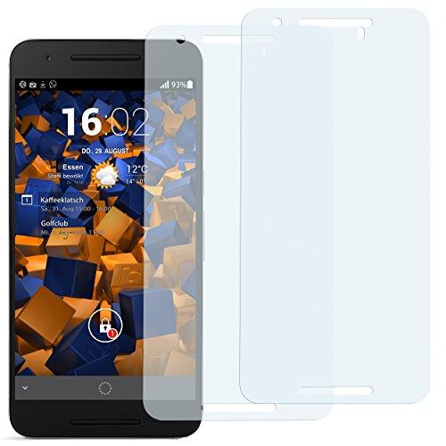 mumbi Schutzfolie kompatibel mit Huawei Google Nexus 6P Folie klar, Bildschirmschutzfolie (2X)