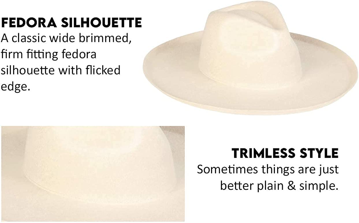 Lack of Color Women's The Melodic Wide-Brimmed Fedora