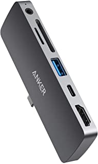 Anker USB C Hub for iPad Pro, PowerExpand Direct 6-in-1 USB C Adapter, with 60W Power Delivery, 4K@60Hz HDMI Port, 3.5mm Headphone Jack, USB 3.0 Port, SD and microSD Card Reader