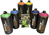 Montana Black 6x 400ml Power Sprühdosen Pack