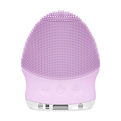Facial Cleansing Brush Electric, Food Grade Silicone Face Cleanser Brushes,...