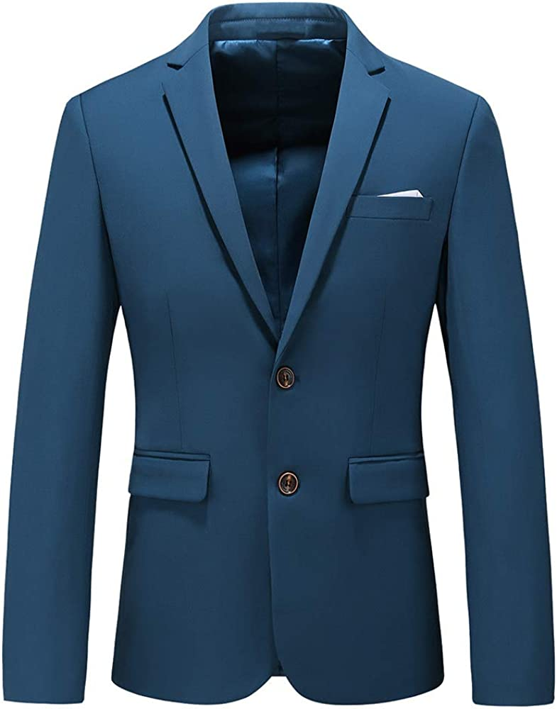 Mens Finally resale start Casual Two Button New item Single Breasted Suit Weddin Modern Jacket