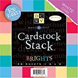 Die Cut Match Makers Brights Cardstock Stack,8X8-Inches