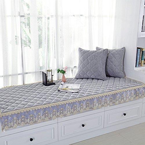 XY & YD Verdikt u Bay Window Pad,Moderne vensterbank mat mat mat zitkussen vier seizoenen sofa kussensloop balkon mat vloermatras