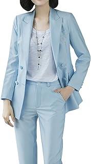 630b1da1437f Women's Two Pieces Blazer Office Lady Suit Set Work Blazer Jacket and Pant