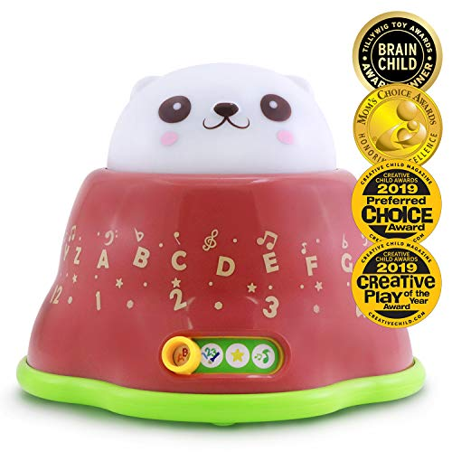 BEST LEARNING Whack and Learn Mole - Educational Interactive Light-Up Toy for Infants Babies Toddlers for 6 Month and up - Ideal Baby Toy Gifts (Toys For 4 Year Old With Down Syndrome)