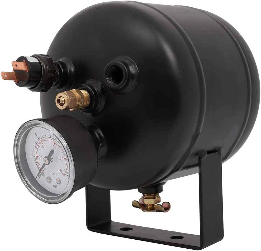 ECCPP 12V 0.5 Gal Air Tank Horn All stores are sold Train for 5Ports System Max 57% OFF