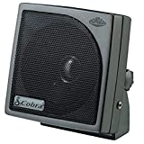 Cobra HG S100 - Dynamic External CB Speaker, Sound, Rugged Design , Black
