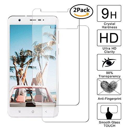 Guran® [2 Stück] Displayschutz Glasfolie für Blackview R6 Lite Smartphone Hartglas Schutzfolie Film 3D Touch Kompatibel Panzerglasfolie
