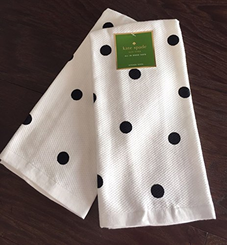 Kate Spade New York Set of 2 Deco Dot Kitchen Towels