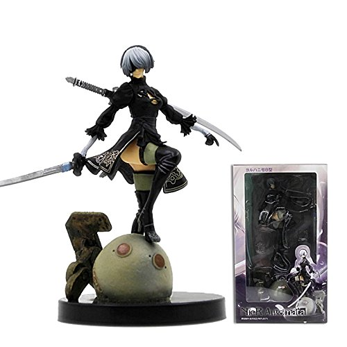 TOFOCO NieR Automata Yorha No. 2 Type B,2B PVC collectible figure, statue 15cm Action Figure Collectible Model Ps4 Game Anime Figure Toy Doll Gift