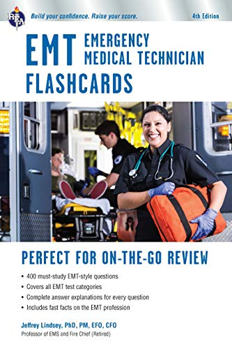 EMT Flashcard Book, 4th Ed. (EMT Test Preparation)