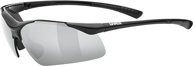 uvex sportstyle 223, Sportbril Unisex-Volwassene, black/silver, one size