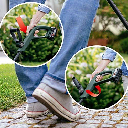 Bosch Akku Rasentrimmer EasyGrassCut 18 (ohne Akku, 18 Volt System, Schnittkreisdurchmesser 26 cm, im Karton)