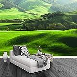 3D Hd Rasen Berg Natürliche Landschaft Foto Wandbild Tv Wohnzimmer Sofa Hintergrund Home Decoration Nahtlose Tapete Wandbilder 150(B) X105(H) Cm