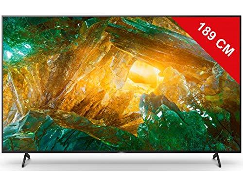 "Televisor TV LED 189 cm (75"") Sony KE75XH8096 Ultra HD 4K Android TV"