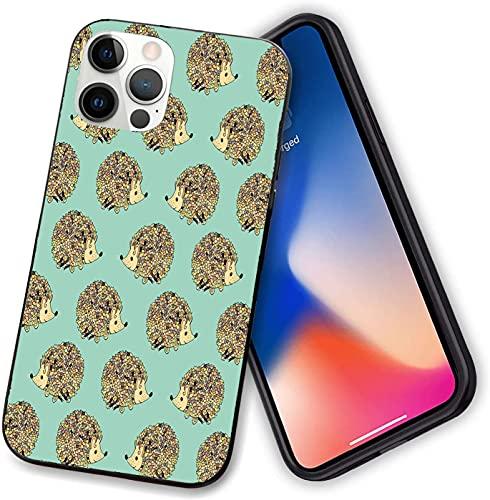 Compatible con iPhone 12 series caso, diseño abstracto de animales lindos criaturas divertidas, funda delgada con PC flexible TPU anti arañazos absorción de golpes para iPhone 12 mini 5.4 pulgadas