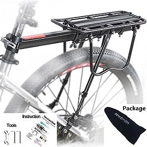Transportin Porta Equipaje Parrilla para Bicicleta de Doble ...