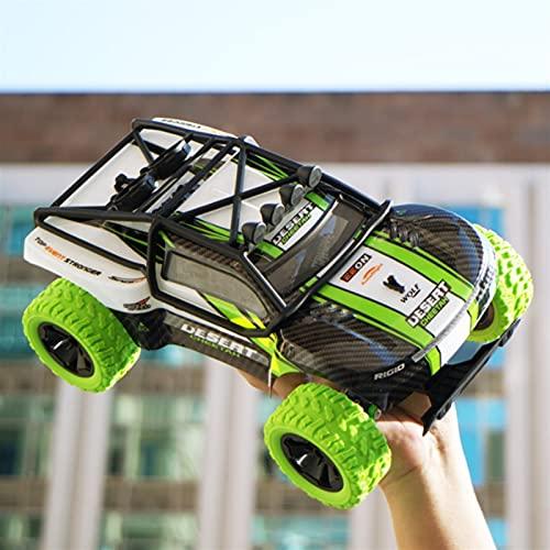 Toys Car 2.4G Control remoto Coches Vehículos de carrera eléctricos de alta velocidad 1:16 Tarjetas cortas de alta velocidad VEHÍCULO DE SUR VEHÍCULO DE CURÁNTES DE LA TRIMÓN RC Off-Road Truc Kids Adu