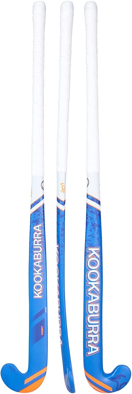 KOOKABURRA Unisex-Youth Comet Hockey Blue Orange Stick 28inch Max 78% Colorado Springs Mall OFF