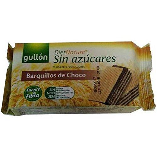 GALLETAS GULLÓN BARQUILLOS DE CHOCOLATE SIN AZÚCAR BOLSA 70GR