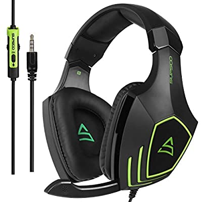 SUPSOO G820 Bass Gaming Headsets with Noise Isolation Microphone For New Xbox one PS4 PC Laptop Mac iPad iPod