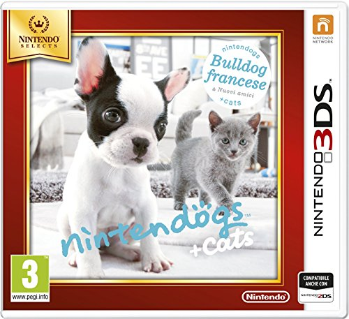 Nintendo Nintendogs + Cats: Bulldog Francese - Juego (Nintendo 3DS, Soporte físico, Estilo de vida, Nintendo, 25/03/2011, PG (Guía parental))