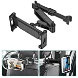 Car Headrest Mount, SAWAKE Angle Adjustable Headrest Tablet Mount, Universal Tablet Holder