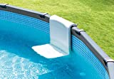 Intex Pool Bench, Foldable Seat for Above Ground Pools