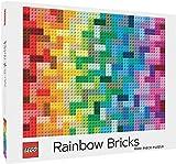 Puzzle: Lego Rainbow Bricks: 1000-piece Puzzle