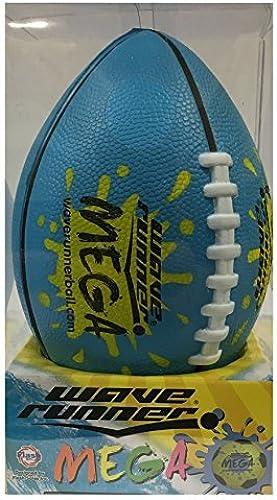 Venta en línea de descuento de fábrica Flash Sale Wave Runner Mega Football Water Bouncer Bouncer Bouncer Skipping Ball, azul by Flash Sale  promociones