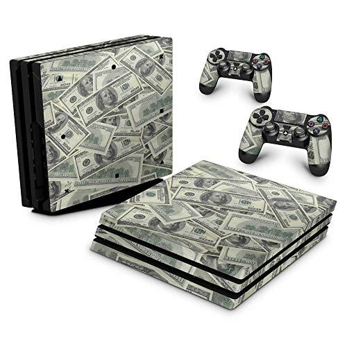 Skin Adesivo para PS4 Pro - Dollar Money Dinheiro