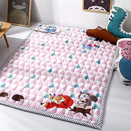 Baby Supplies HIL baby stuoie slipvaste stuoie baby stuoie lusmatten tapijt Giochi voor kinderen, slaapkamer speelkamer pad 140 x 190 cm, zacht wasbaar