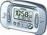 Casio Collection Despertador electrónico, Resina, Gris, 74,60 mm x 119,00 mm x 65,80 mm...