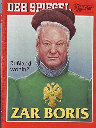 Der Spiegel Nr. 01/1991 30.12.1991 Rußland-wohin: Zar Boris