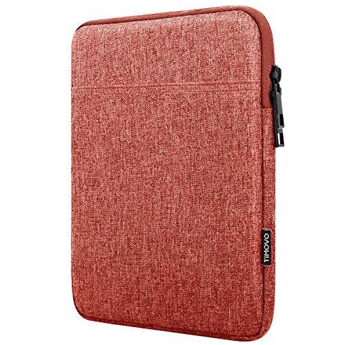 TiMOVO Funda para Tablet de 9-11' para 2020 10.9 iPad Air 4,11 iPad Pro, Nuevo iPad 10.2, Galaxy Tab A7 10.4 2020, S6 Lite 2020, Surface Go 2/1, Bolsa Apta Teclado Inteligente, Naranja