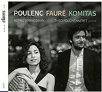 Poulenc/Faure/Komitas: Sonates