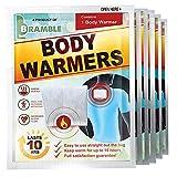 Bramble 12 Stück Körperwärmer - Selbstklebend, Umweltfreundlich, Luftaktiviert, 100% Natürlich - Bis zu 10 Stunden Wohltuende Wärme - RückenwärmerRückenpflaster Wärmepflaster - für Damen & Herren