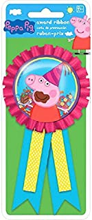 amscan Confetti Pouch Award Ribbon | Peppa Pig Collection | Party Accessory
