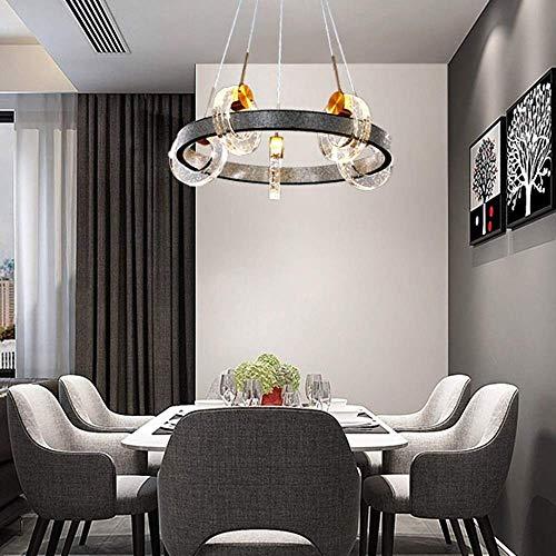 Dormitorio del oro del metal lampara de mesa Lamparas de mesa de noche moderna nordica Ronda Rhinestone del diamante Negro Sala de estar lampara de mesa de comedor Hotel Ring 5 Fuente de luz Art Led l