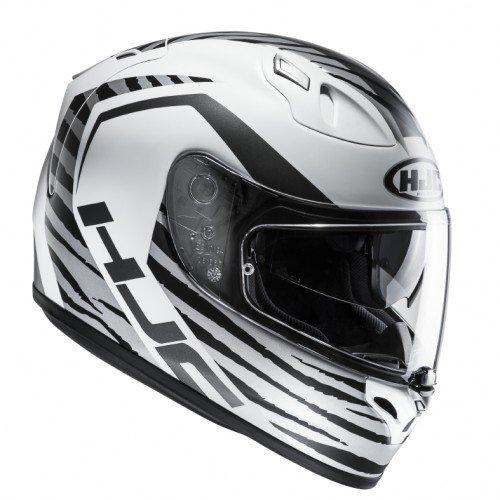 HJC Casque Moto Fg-St Tian MC10Sf, Blanc/Noir, Taille S