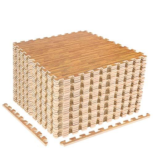 ZERRO CCLIFE Esterilla Puzzle para Suelos de Gimnasio y Fitness 60x60x1cm Suelo de Gimnasio de Goma Espuma EVA