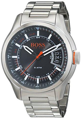 Hugo Boss Orange Hong Kong Herren-Armbanduhr Analog mit Edelstahl Armband 1550004