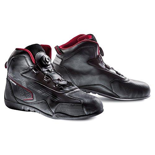 Ixon–Botas Moto–Ixon Zebra Negro/Rojo–44