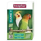 BEAPHAR – CARE+ – Alimentation Super Premium extrudée pour moyenne et grande perruche – 97% d'ingrédients biologiques – Nutriments naturels préservés – Répond aux besoins des oiseaux – 500 g
