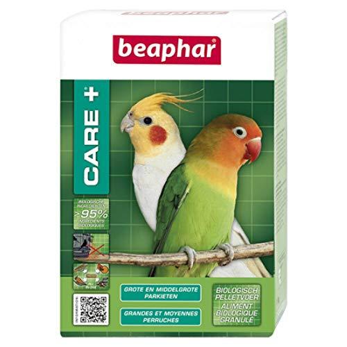 Beaphar - Care+ alimentation super premium - grandes et moyennes perruches - 500 g