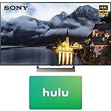Sony XBR-49X900E 49-inch 4K HDR Ultra HD Smart LED TV (2017 Model) with Hulu 25 Dollar Card (Electronics)