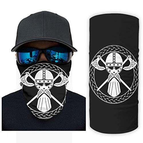 NA Bandana Keltisch krijgbaar helm kruis as Viking geest cirkel druk zonnescherm gezichtsmasker